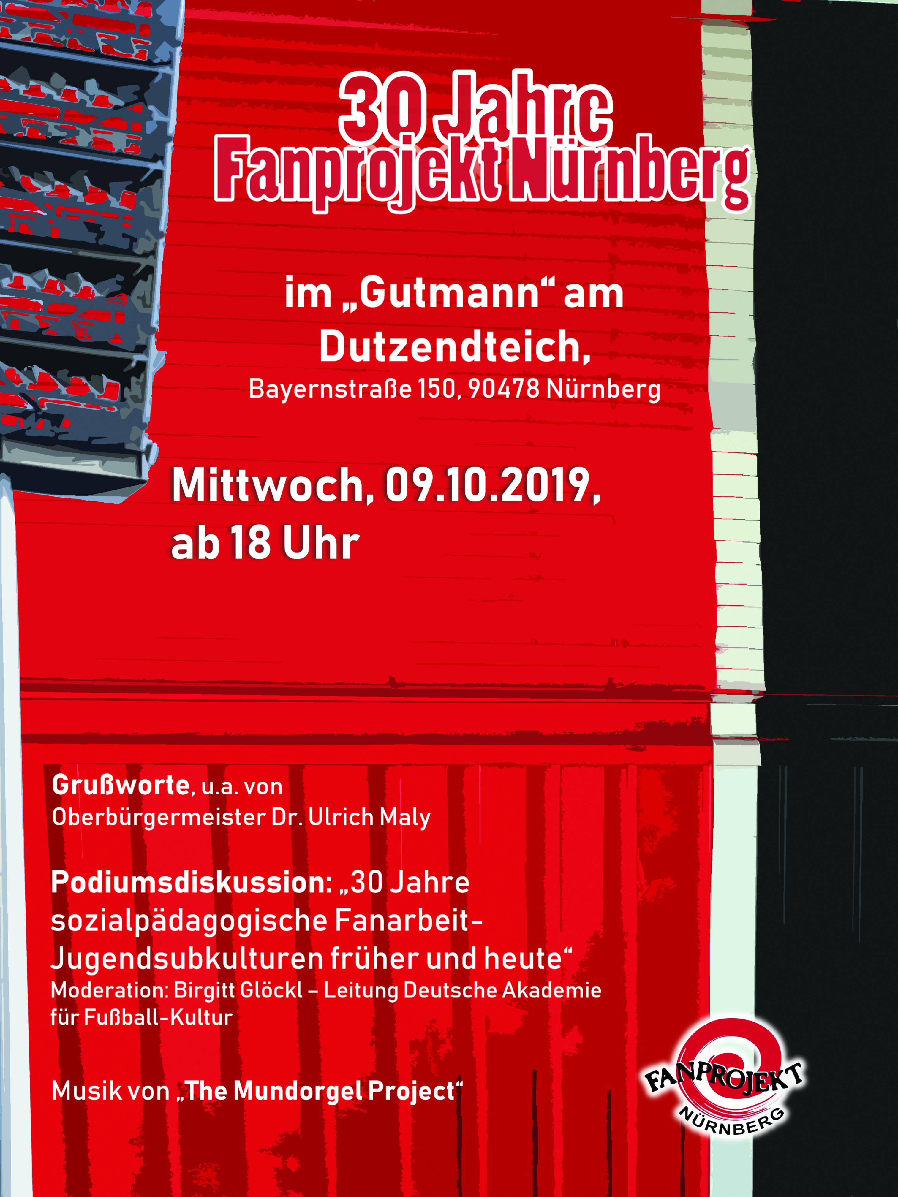 30 Jahre Fanprojekt Nürnberg